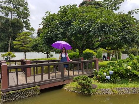Taman Gaya Jepang-Taman Bunga Nusantara