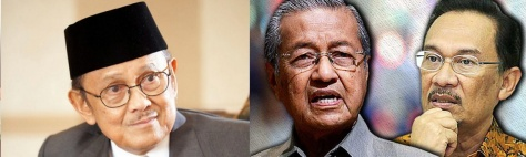 BJ HABIBIE-INDONESIA-MAHATHIR-ANWAR-MALAY