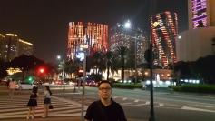 Suasana Malam di Makau