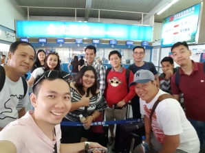 Team Kami ready for sailing to HK