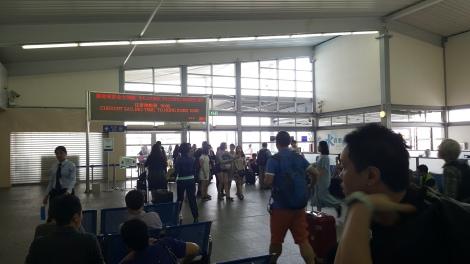 terminal tunggu - macau taipa - menunggu cotai water jet berangkat