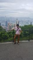 Suasana di atas - Peak Hong Kong