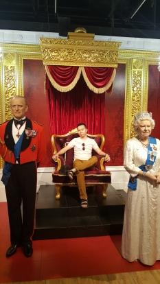 ratu elizabeth madame tussauds