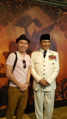presiden Soekarno madame tussauds
