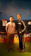 david beckham madame tussauds