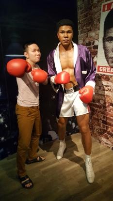 Muhammad Ali Madame tussauds