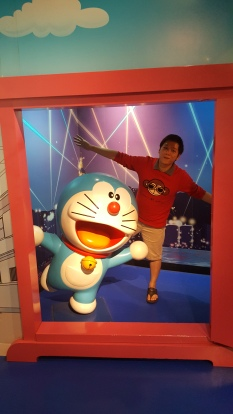 doraemon madame tussauds