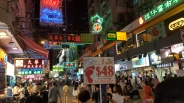 Mong Kok Market Hong Kong