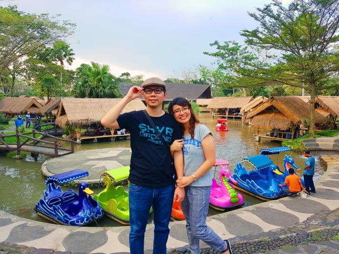 Menghabiskan libur lebaran di Rumah Air Bogor