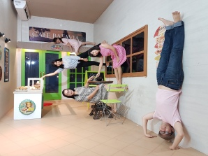 upside down world alam sutera