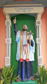 Patung Fransiskus Xaverius-Graha Maria Annai Velangkanni