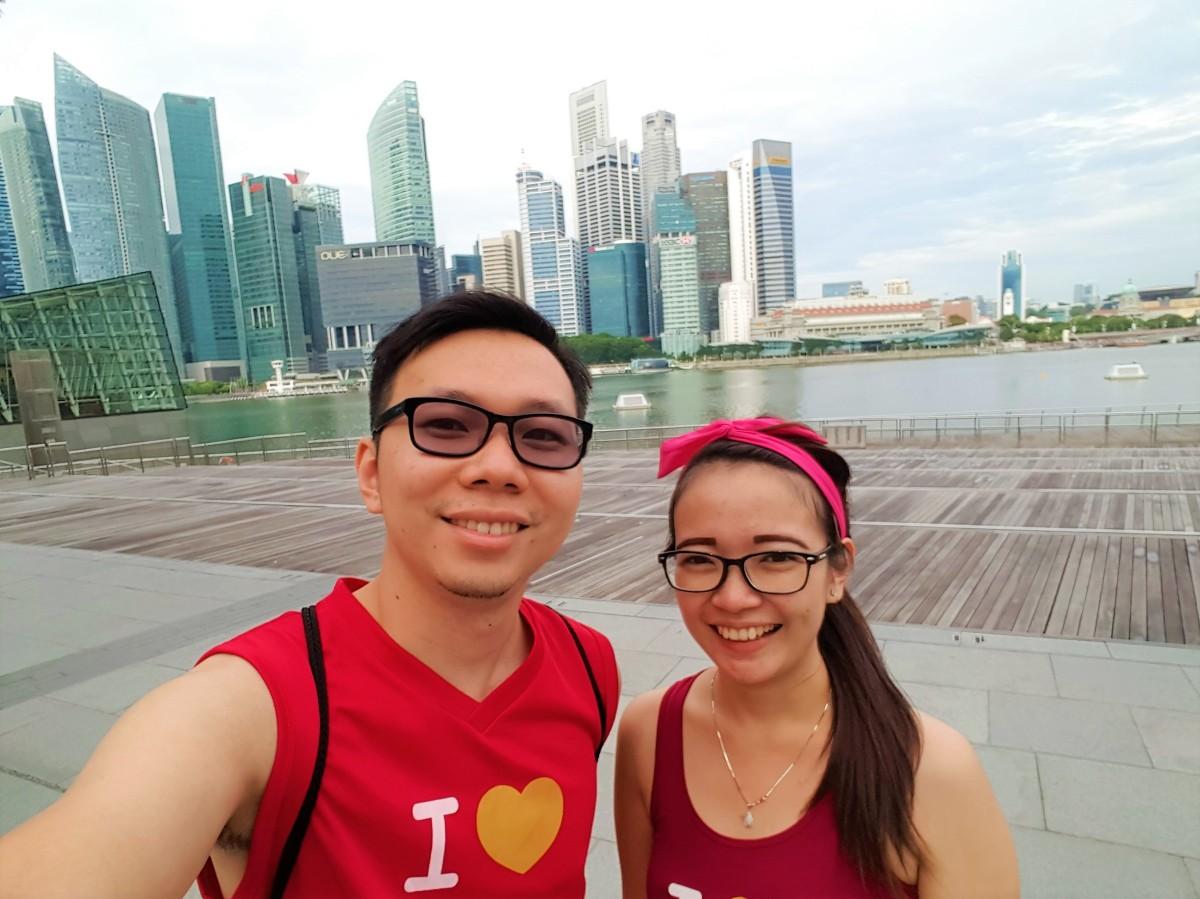 Jogging di Marina Bay Singapura