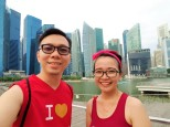 jogging di marina bay