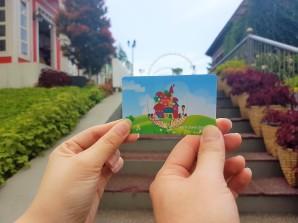 kartu akses kota mini lembang
