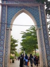 Gapura Mesjid Raya Bandung