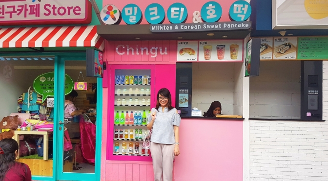 Menikmati kuliner korea di Little Seoul Bandung (Chagiya Suki BBQ, Dongdaemun Street)