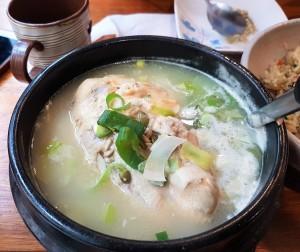 menu Samgyetang