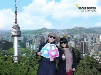 Photo print from N Seoul Tower
