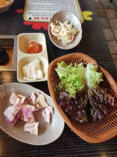 Side dishes dakgalbi