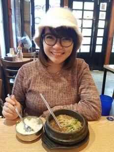 makan beef soup di insadong