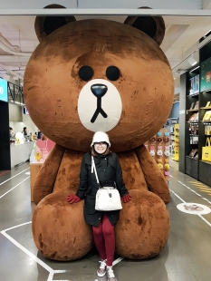 Brown, LINE FRIEND CAFE & STORE