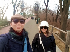 Jalan kaki ke Namsan Seoul Tower