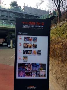 Daftar lantai Namsan Seoul Tower