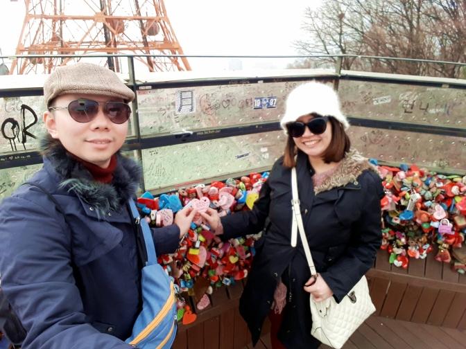 Liburan Babymoon ke Seoul, Korea Part 3 (Tips travelling ke Namsan Tower)