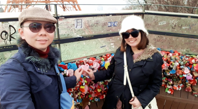 Liburan Babymoon ke Seoul, Korea Part 3 (Tips travelling ke Namsan Tower)