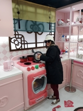 Yuditika goes to Museum Hello Kitty