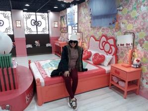 Yuditika goes to Museum Hello Kitty