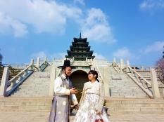 Foto di depan National Folk Museum of Korea