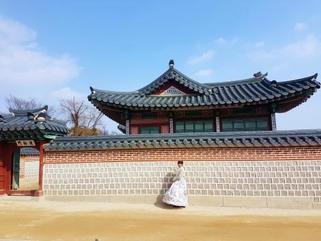 Yuditika ke Gyeongbokgung Palace