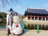 Yuditika goes to Gyeongbokgung Palace
