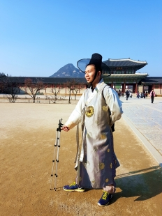 yuditika goes to gyeongbokgung
