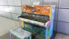 Piano at Dongdaemun Design Plaza