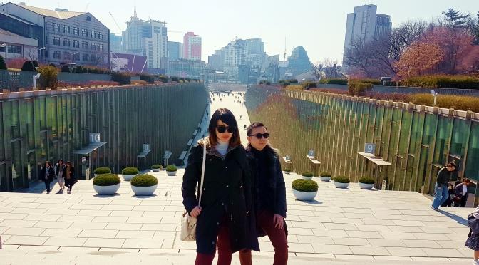 Liburan Babymoon ke Seoul, Korea Part 5 (Ewha Womans, Shinchon, Dongdaemun)