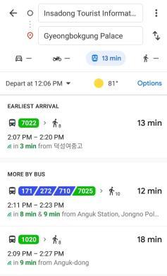 Googlemaps di Korea yuditika.com2