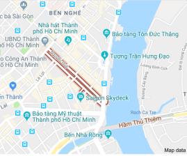 Nguyen Street Malam hari